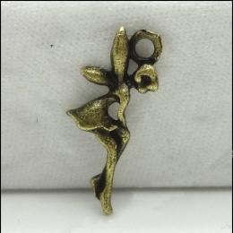 hm-444. Подвеска Фея, античная бронза. 100 шт., 6 руб/шт