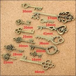 hm-591. Ключи, бронза, микс 13 шт