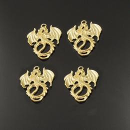 hm-764. Подвеска Дракон, цвет золото. 5 шт., 24 руб/шт.