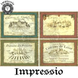15593. Декупажная карта Impressio, плотность 45 г/м2