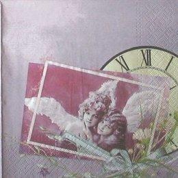 3775. Ангелы и часы. 10 шт., 9 руб/шт