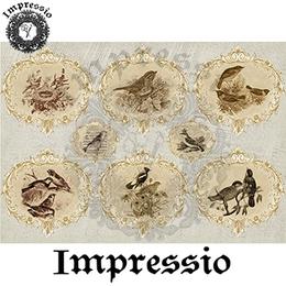 6475. Декупажная карта Impressio. Плотность 45 г/м2