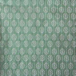 9858. Листья на зеленом. 15 шт., 6 руб/шт