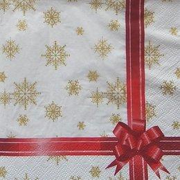 9930. Подарок. Красная лента