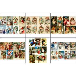 11564. Набор декупажных карт «Винтажные открытки»