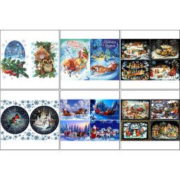 11570. Набор декупажных карт «Новый год по-русски»