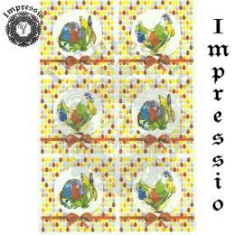 15422. Декупажная карта Impressio, плотность 45 г/м2