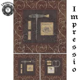16262. Декупажная карта Impressio, плотность 45 г/м2