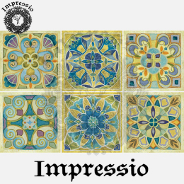 16435. Декупажная карта Impressio, плотность 45 г/м2