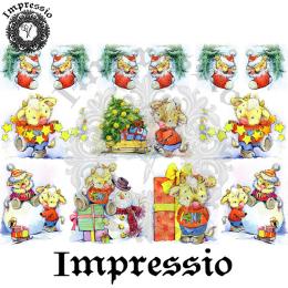 16655. Декупажная карта Impressio, плотность 45 г/м2