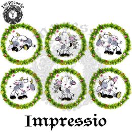 16657. Декупажная карта Impressio, плотность 45 г/м2