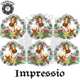 16666. Декупажная карта Impressio, плотность 45 г/м2