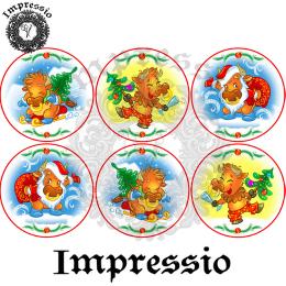 16668. Декупажная карта Impressio, плотность 45 г/м2