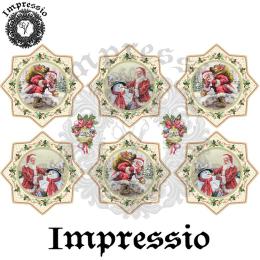 16751. Декупажная карта Impressio, плотность 45 г/м2