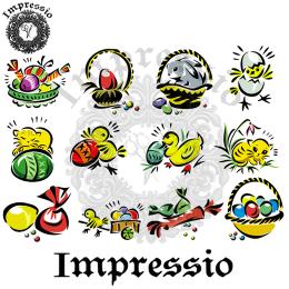 16851. Декупажная карта Impressio, плотность 45 г/м2