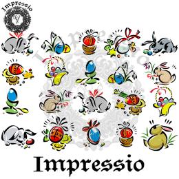 16852. Декупажная карта Impressio, плотность 45 г/м2