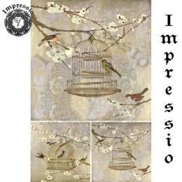 16955. Декупажная карта Impressio, плотность 45 г/м2