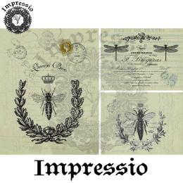 16969. Декупажная карта Impressio, плотность 45 г/м2