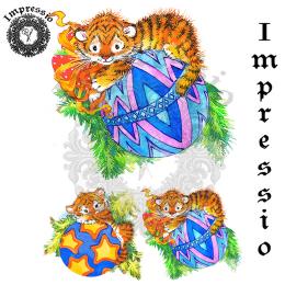 17061. Декупажная карта Impressio, плотность 45 г/м2