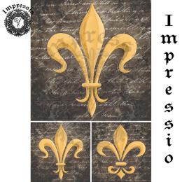 17352. Декупажная карта Impressio, плотность 45 г/м2