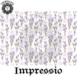 216589. Рисовая декупажная карта Impressio. 25 г/м2