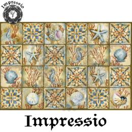 217356. Рисовая декупажная карта Impressio, 25 г/м2