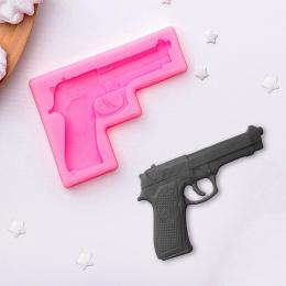 """М-345. Молд  """"Пистолет"""""""