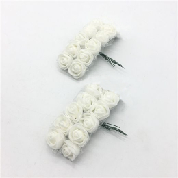 hm-2317. Букет цветов, 10 шт., белый. 10 бук., 16 руб/бук