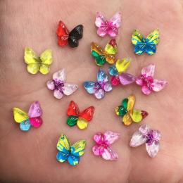 hm-2521.  Бабочки, микс. 100 шт., 6 руб./шт