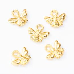 hm-2574. Подвеска Пчелка, цвет золото 100 шт. 4 руб/шт